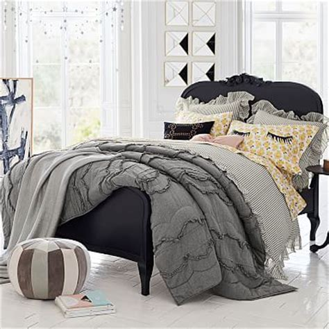 designed the lilac bedroom collection for pbteen the emily meritt lilac bed pbteen