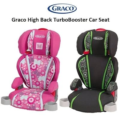 graco turbo booster seat safety rating qoo10 car seat baby maternity
