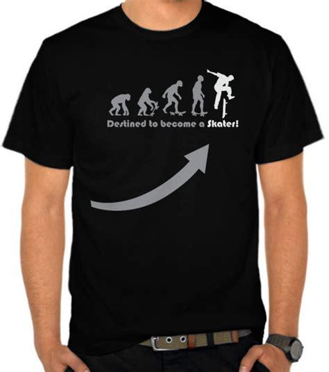 Kaos T Shirt Skater jual kaos skater evolution evolusi satubaju