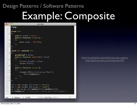 composite design pattern in software engineering software engineering in php