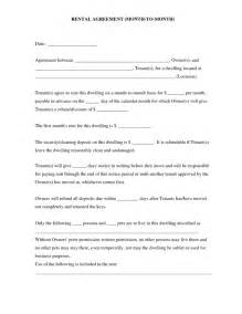 Basic Residential Lease Agreement Template Best Photos Of Simple Rental Agreement Template Simple