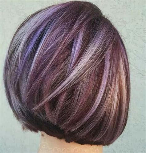 short bob styles with a subtle stacking best 25 funky highlights ideas on pinterest highlights