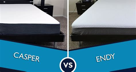 Mattress Reviews Ratings by Endy Vs Casper Mattress Review Sleepopolis