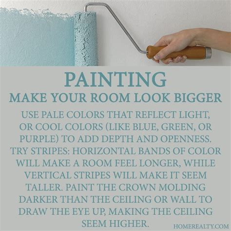 paint tricks to make room bigger images