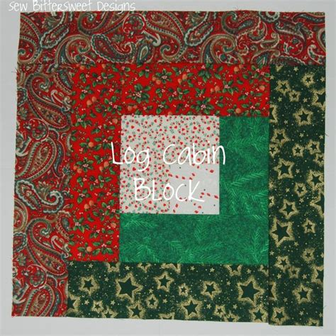 log cabin block ideas and crafts