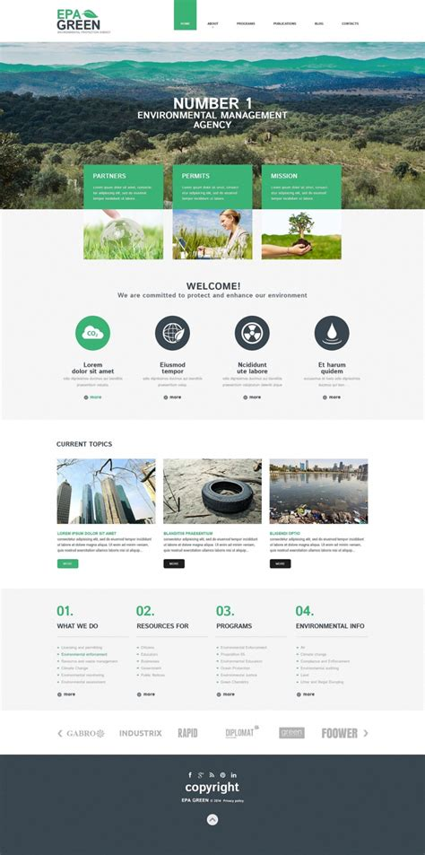 Top 40 Off The Shelf Wordpress Themes For Business Web Template Customization Org Website Templates