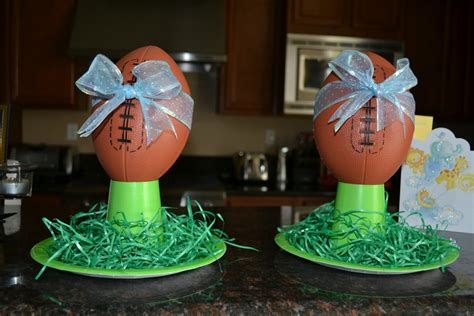 Soccer Themed Baby Shower Ideas by The Dimillo S Football Theme Baby Shower Prep