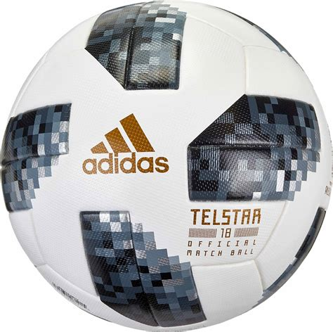 Jual Bola Adidas Ce8083 by Adidas Telstar 18 World Cup Match White Silver