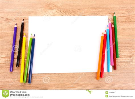 How To Make A Paper Pencil - paper and pencils stock photo image of instrument