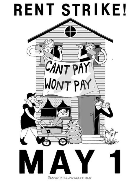 1 million-strong RENT STRIKE in US from May 1st to demand