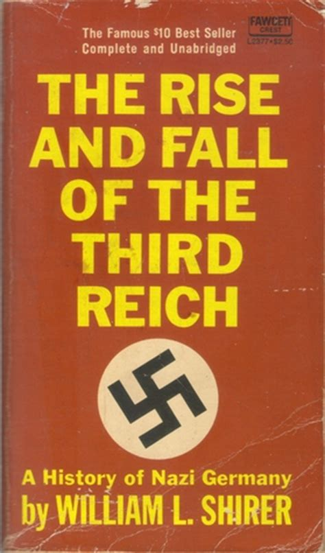 Book Review The Rise And Fall Of A Mummy by The Rise And Fall Of The Third Reich By William L Shirer