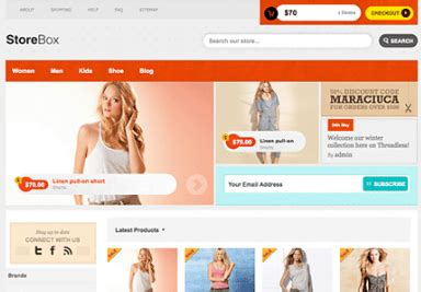 themes online store wordpress 8 awesome wordpress themes for clothing stores wp solver