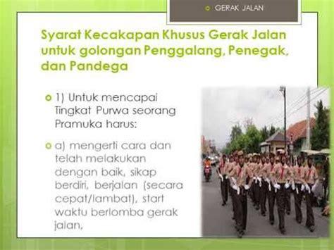 Tkk Gerak Jalan Penegak Purwa seri 10 tkk wajib gerak jalan