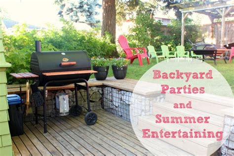 entertaining backyards prepping for summer backyard parties entertaining make and takes