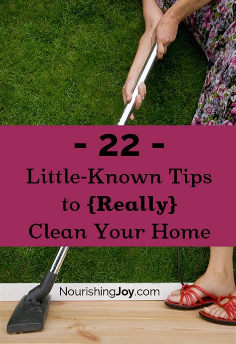 tips to clean your house 22 little known tips to really clean your home