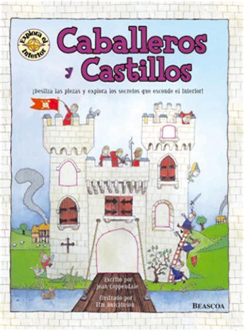 libro castillos y caballeros piruleta colorines los castillos