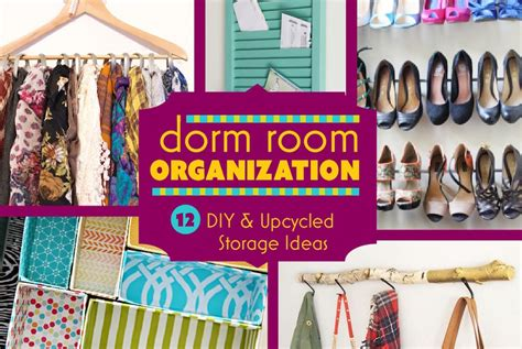 Ideas To Decorate Bedroom dorm room organization 12 diy projects amp storage ideas