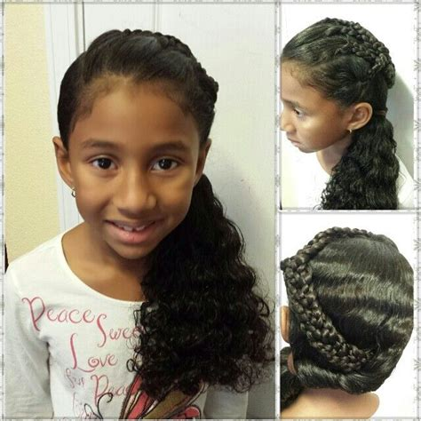 ebay real hair braids for each side or part 28 best kids hair styles images on pinterest childrens
