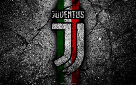 wallpapers juventus stone texture  logo