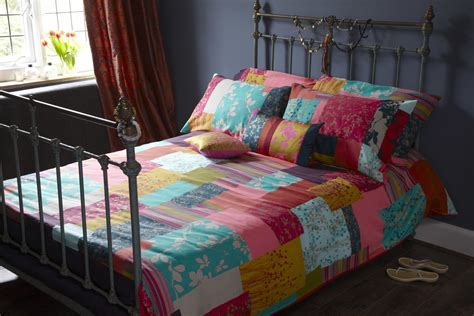 Patchwork Bed Linen - win new aw12 bed linen collection from clarissa hulse