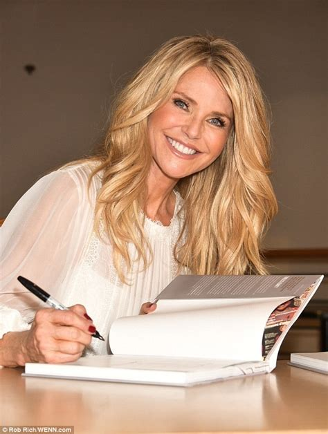 images of 61year old women christie brinkley 61 tells fans the secret to looking