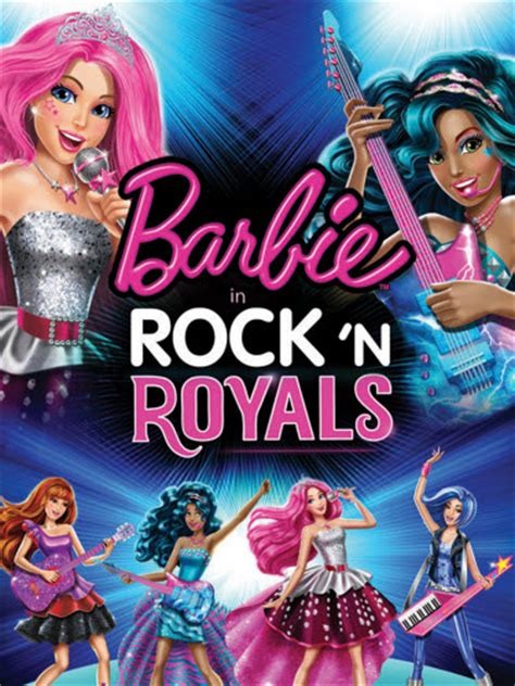 Film Barbie Rock N Royals | barbie in rock n royals movie poster