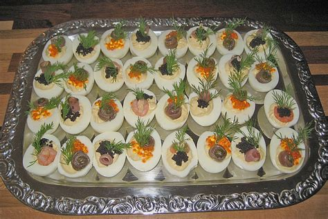 Wurst Anrichten by Gef 252 Llte Eier Krabben Rezepte Chefkoch De
