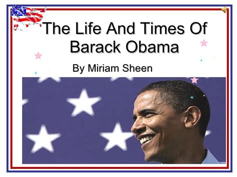 biography of barack obama ppt the life and times of barack obama copia