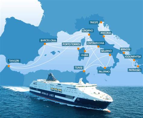 lines porto torres barcellona traghetti