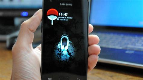 themes android galaxy s2 chidori go locker theme for android youtube