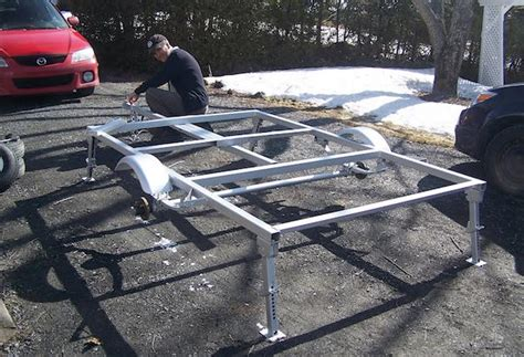 make your own boat trailer guides how to build your own ultra lightweight micro cer