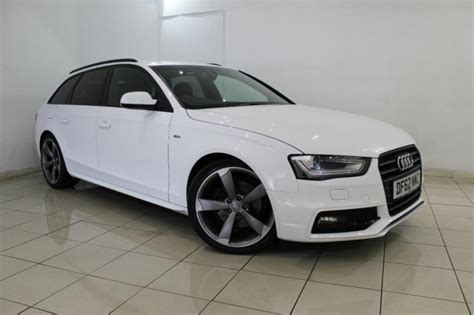 Audi A4 Modell 2013 by 2013 62 Audi A4 2 0 Avant Tdi S Line Black Edition 5dr 174