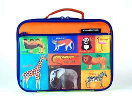 Tangled Soft Lunch Box jungle animals lunch box insulated