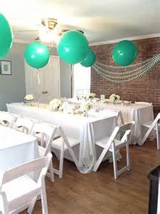 mint baby shower ideas 100 layer cakelet time