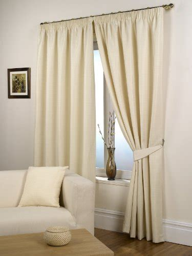 natural curtains 90 x 90 waffle natural lined ready made curtain pair 90 quot x 90
