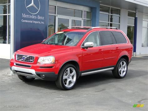 passion red volvo xc   design awd  photo  gtcarlotcom car color galleries