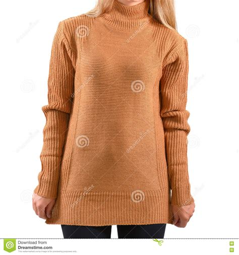 light brown pullover hoodie blank light brown pullover mock up isolated wear