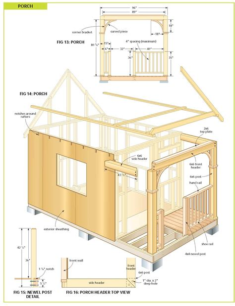 cottage floor plans free free diy cabin plans free cabin plans bunkie plans