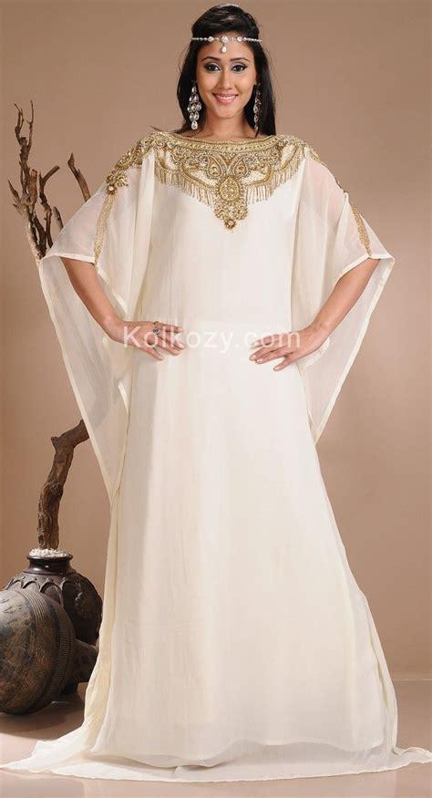 Blouse Semi Kaftan Branded Unique White Color Faux Georgette Designer Kaftan