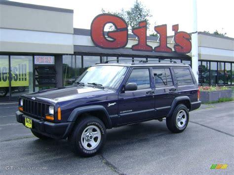 1998 lapis blue jeep sport 4x4 13819422 gtcarlot car color galleries