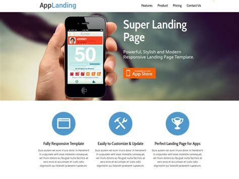 free html templates for landing pages 25 free landing page html templates templatemag