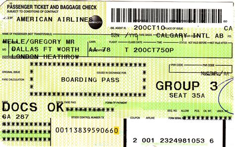 aa baggage fee aa 2010 10 20 american airlines ticket boarding pass flickr