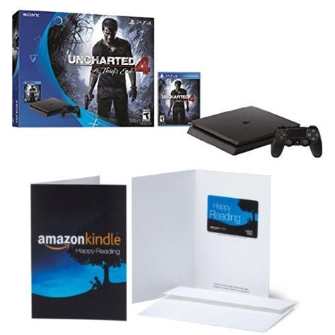 Amazon Ps4 Gift Card - amazon playstation 4 uncharted console bundle 50 amazon gift card only 249 99