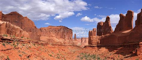 Landscape Arch Rock Fall Nature Photography Wpl Usa Utah Arches National