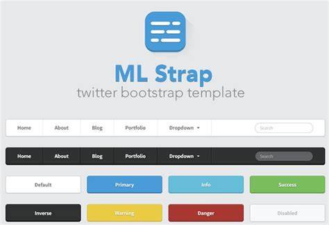 bootstrap themes ui free ml strap twitter bootstrap theme ui template