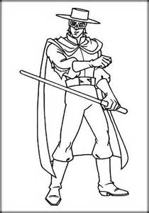 best zorro coloring pages for preschoolers color zini