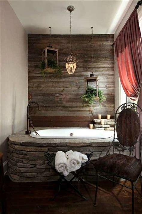 wood accent wall bathroom i love the barn wood accent wall bath ideas juxtapost