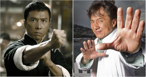 jackie chan real life donnie yen is fighting jackie chan in ip man 4