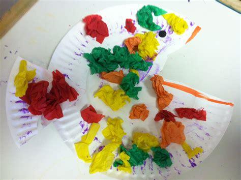 Paper Crumpling Craft - bilateral coordination starfish therapies
