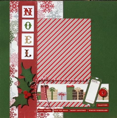 scrapbook layout christmas premade scrapbook page 12 x 12 christmas layout by